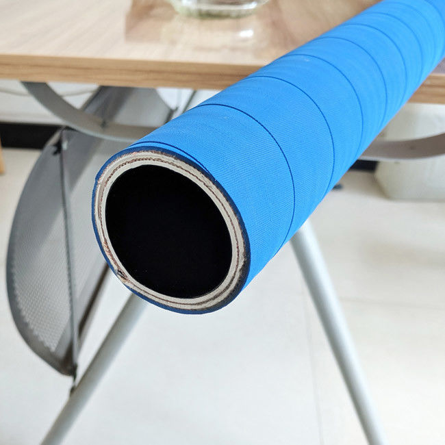 Industrial Anti - Static Chemical Flexibility Hose , Conductive UPE Chemical Hose